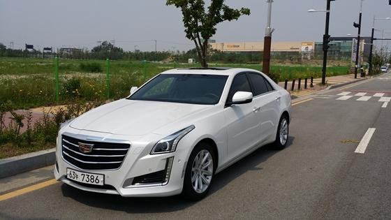 GM 캐딜락 CTS (사진 = 강은태 기자)