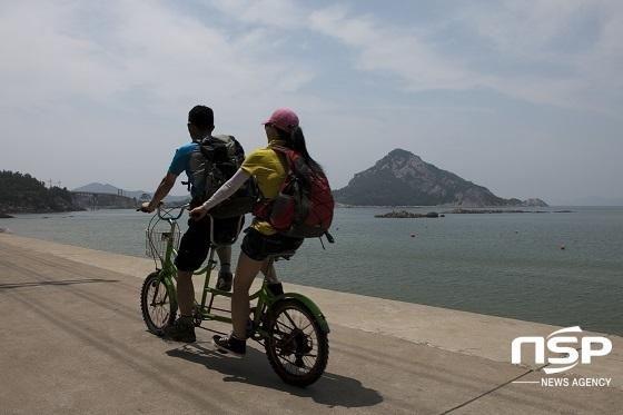 선유도 자전거 하이킹.