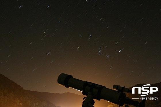 곡성섬진강천문대 야경. (사진 = 곡성군)