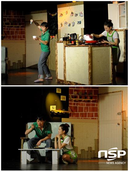 연극 맛의 기억 공연 장면. (사진 = 플레이 더 부산 제공)