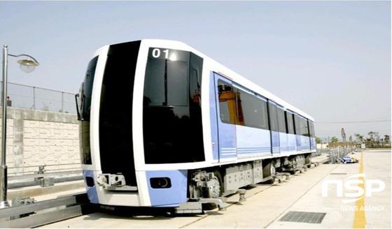 양산시가 2021년 개통을 목표로 추진하고 있는 도시철도 양산선. (사진 = 양산시 제공)