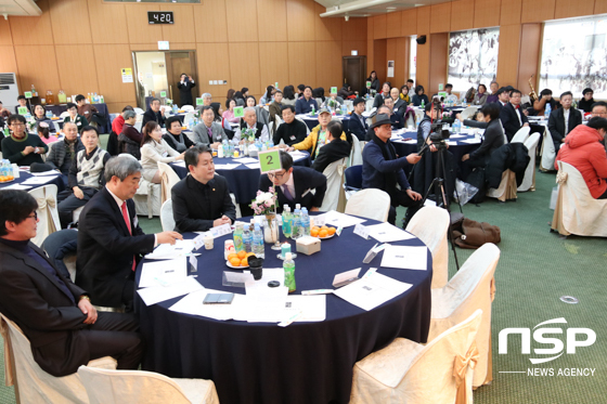 한국해외봉사단원의 밤 행사에 참석한 관계자들 모습. (사진 = 조현철 기자)