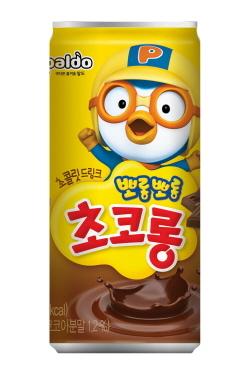 팔도 어린이 초코음료 뽀롱뽀롱 초코롱 (사진 = 팔도 제공)