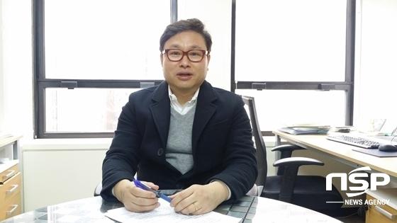 공병주 한국병행수입업협회장이 일본과 같이 병행수입 시장 활성화 정책을 정부가 적극 시행시 10년內 25조 규모의 시장으로 성장할수 있다고 말하고 있다. (사진 = 강은태 기자)