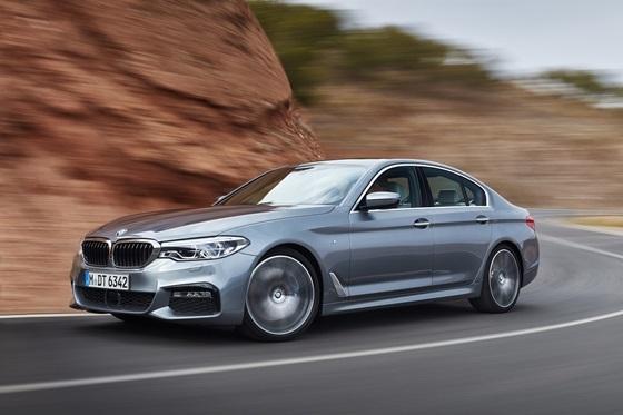 BMW 뉴 5시리즈 (사진 = BMW 파이낸셜 서비스 코리아)