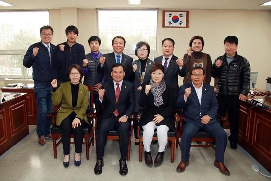 총무경제위원회 간담회 모습. (사진 = 안양시의회)