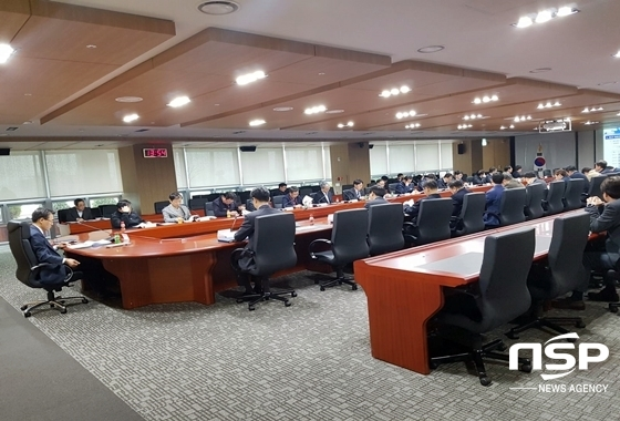 지난 20일 개최된 부서장 대상 안전점검 회의 (사진 = 한국가스공사 제공)