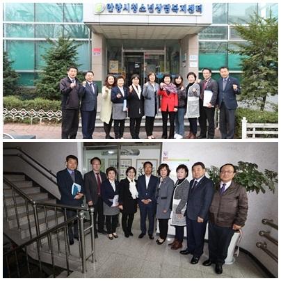 보사환경위원회 시설 방문 모습. (사진 = 안양시의회)