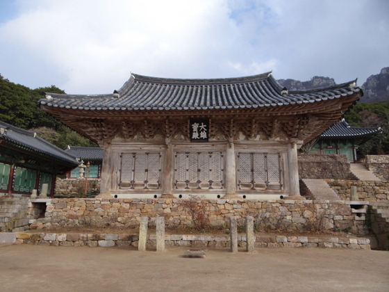 미황사 대웅전 (사진 = 문화재청 국립해양문화재연구소)