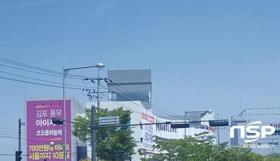 김포시에 난립하고 있는 저렴한 분양가의 모델하우스 (지역주택조합이 대다수) (사진 = 박승봉 기자)