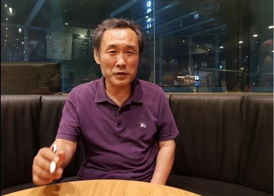 고철용 비리척결운동본부 본부장 (사진 = 강은태 기자)
