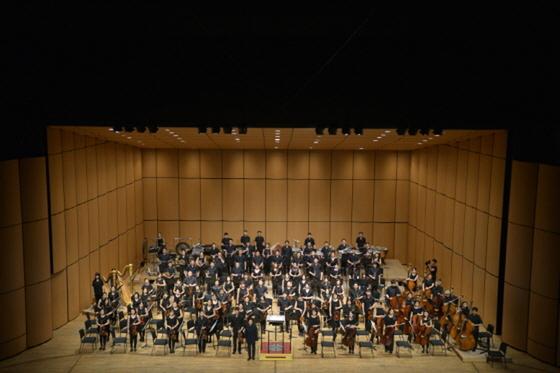 경기필하모닉 오케스트라의 청소년 음악회 모습. (사진 = 경기도문화의전당)