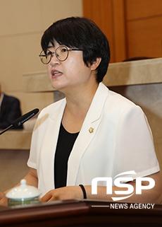 포힝시의회 박희정 의원(더불어민주당, 비례) (사진 = 포항시의회)