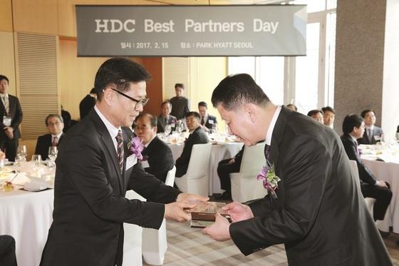 HDC Best partners day (사진 = 현대산업)