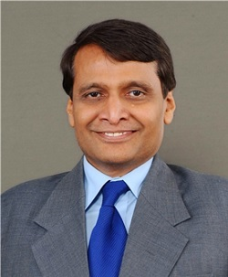 ▲수레쉬 프라부 인도 통상산업부 장관