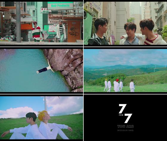 ▲GOT7 You Are 뮤직비디오 티저 영상 화면 캡처 (사진 = JYP엔터테인먼트)