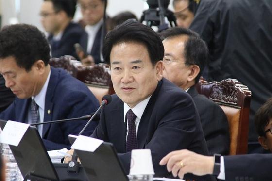 정동영 국민의당 국회의원(전북 전주시병)이 국정감사에서 발언하고 있다. (사진 = 정동영 의원실)
