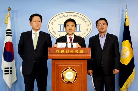 국민의당 국토교통위원회 공동기자회견 (사진 = 국민의당 정동영 의원실)