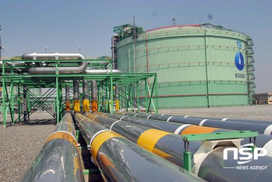 한국가스공사 평택생산기지본부 LNG저장탱크 (사진 = 한국가스공사)