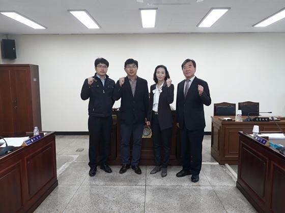 고양시의회 스타트업전략연구회 소속 시 의원들 (사진 = 고양시의회)