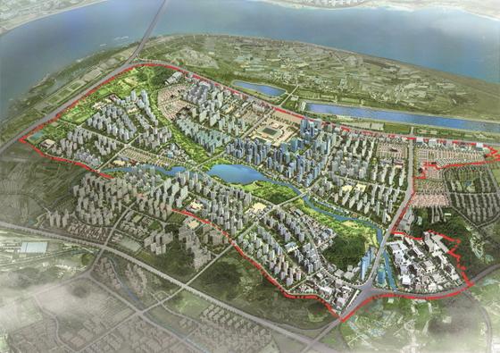 미사강변도시 지구조감도 (사진 = 한국토지주택공사)