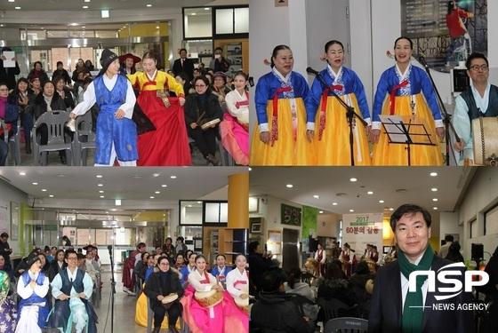 광명시평생학습원 동아리 시민극단 광명의 신춘향전 이모저모. (사진 = 박승봉 기자)