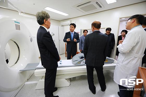 영덕아산병원 전환 기념식 CT 장비 도입 (사진 = 영덕군)