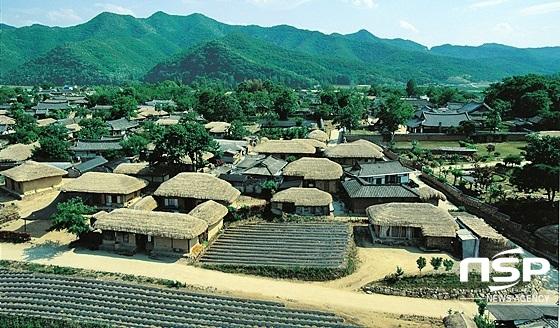 경북 안동하회마을 전경 (사진 = 경상북도)