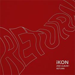▲아이콘의 두 번째 정규앨범 iKON 2nd Album : Return 재킷 이미지