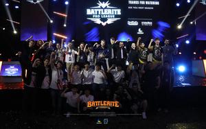 [포토]배틀라이트 프로 리그서 SPACESTATION GAMING 최종 우승