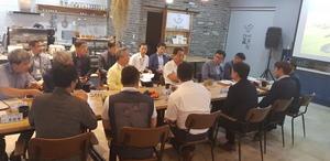 [NSP PHOTO]농림부 오병석 국장, 하동 6차산업 우수업체 간담회 개최...