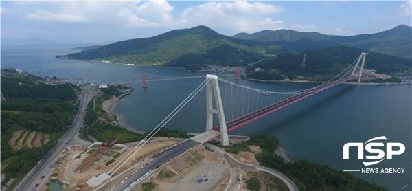 [NSP PHOTO]하동군, 남해안 해안루트 중심 '노량대교' 13일 개통