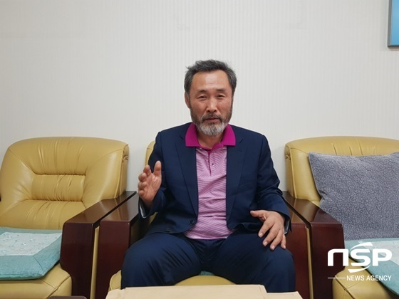 "[NSP PHOTO][인터뷰]고철용 비리척결본부장, ""고양시민들 아직 유은혜 후보자 신뢰 한다"""