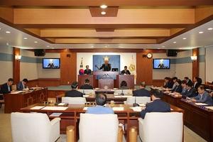[NSP PHOTO]장수군의회, 제294회 임시회 개회