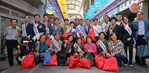 [NSP PHOTO]한국당 경북도당, 추석맞이 재래시장 장보기 행사…소상공인 생존권 확보 나서