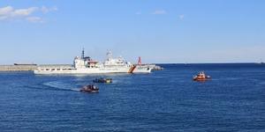 [NSP PHOTO]동해해양특수구조대, 민·관·군 수중수색 '합동훈련' 실시