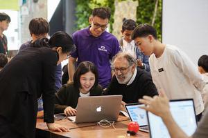 [NSP PHOTO]스마일게이트 희망스튜디오, 'MIT와 함께하는 스크래치 워크숍' 진행