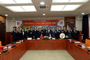 [NSP PHOTO]중국 동천시 우호대표단, 봉화군 방문