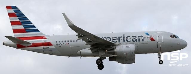 아메리칸항공이 운용 중인 에어버스사 A319