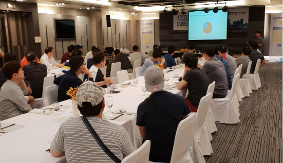 태국 아유타야에서 최근 파트너 대상 세미나를 개최했다 (사진 = 아크서브코리아 제공)