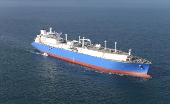 대우조선해양이 건조한 LNG 운반선 (사진 = 대우조선해양)