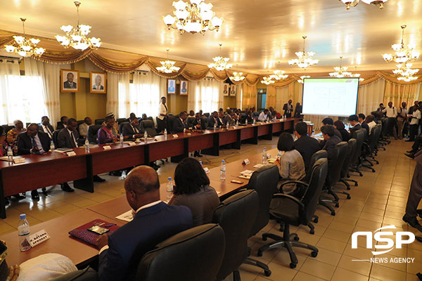 [NSP PHOTO]토고 냐싱베 대통령, 경북도에 새마을운동 보급 강력 희망