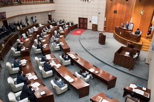 [NSP PHOTO]군산시의회, 새해 첫 임시회 개회