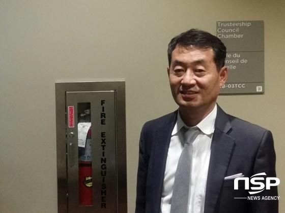 권순종 한국부동산사업협동조합 이사장. (사진 = 양채아 기자)