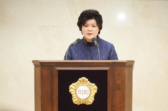 14일 용인시의회 제231회 임시회 제2차 본회의에서 박원동 시의원이 5분 자유발언을 하고 있다. (사진 = 용인시의회)