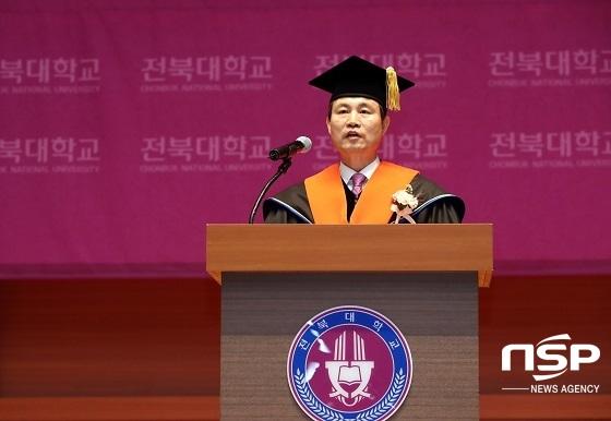 취임사 하는 김동원 초장