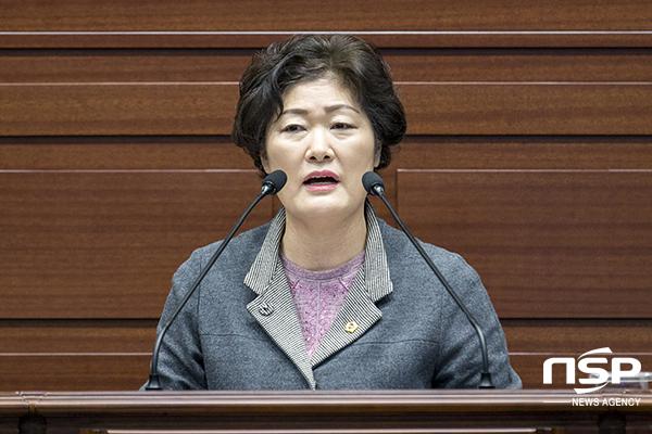 [포토]남영숙 경북도의원, 보조사업 지자체 부담 가중 심각 지적