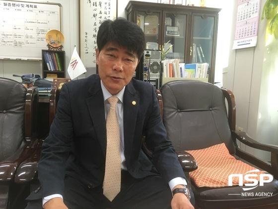 이용수 한국옥외광고협회 중앙회장. (사진 = 양채아 기자)
