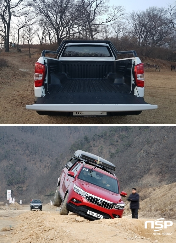 (사진 = (위) 정효경 기자 (아래) 쌍용차)
