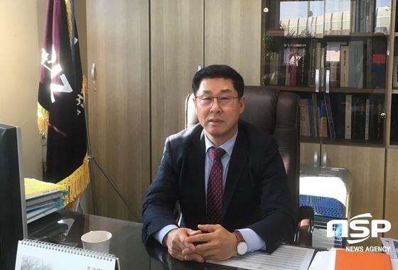 김임용 한국 LPG판매협회 중앙회장. (사진 = 양채아 기자)